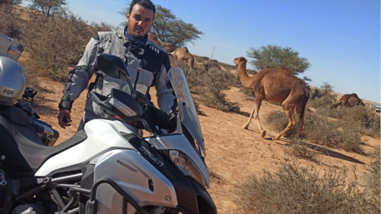 Sahariano rider