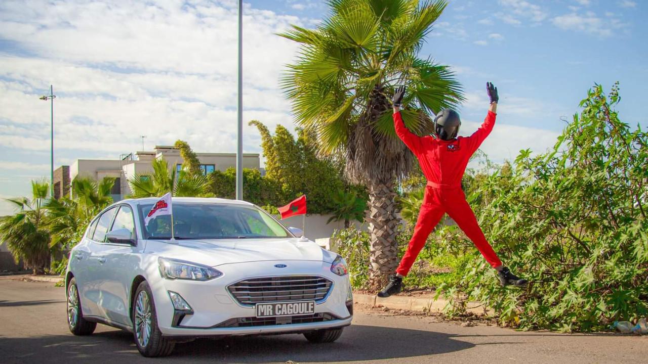 Mr Cagoule l'essayeur automobile 100% marocain